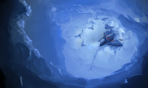 Icy Crash by AndySfd
