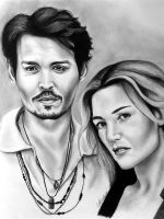 Johnny and Kate by abish