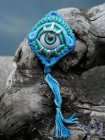 Water Spirit Talisman by JulieBeloussow