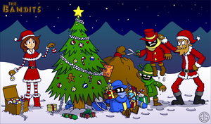 The Bandits Christmas by AdventureIslands