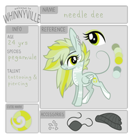 wv app: needle dee by ivyhaze