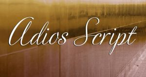 Adios Script Pro by KaterinasGraphics