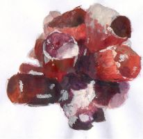 gemstone acrylic by andreawillette