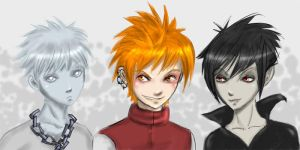 The trio by Wohald