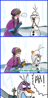 Olaf new clothes by Christy58ying