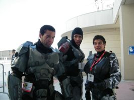 halo cosplay SDCC2010 by solo-knight6