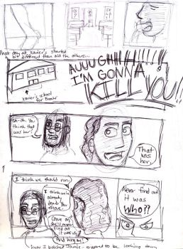 Original AJA Page One by WormmonABC