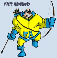 the fat archer by mattcrap