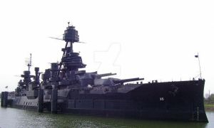 BB-35, The Battleship Texas by Visitant