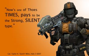 Halo 3 ODST Wallpaper- Dutch by Kommandant4298