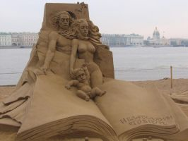 Sand sculpture 4 by RitaFromRussia