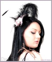 Dusk Moth Designs fascinators by Duskmoth