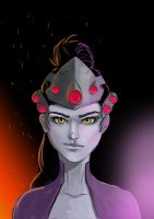 Widowmaker Fanart by teddyb666