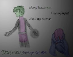 BBxRae: Don't Leave Me by kryptocow