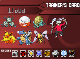 PokeBound Trainer Card Lloyd by The-Triforce-Kid
