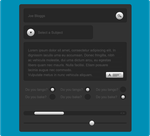 Smart Website Form Elements by FreePSDownload