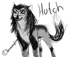 alpha and omega sketch: Hutch by besavampiresa