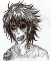 Zombie Lawliet by Luisabel123