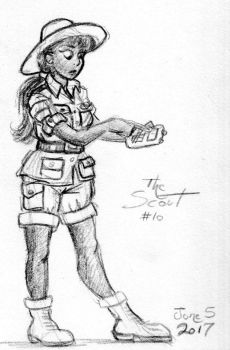 Another Image of the 10th Scout by Gorpo