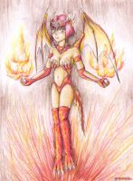 Monster Rancher - Daina by TeraMaster