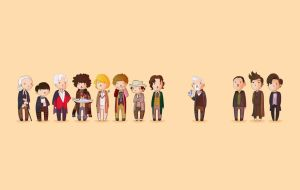 Doctor Who 50th Wallpaper by Blizarro