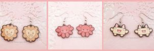 Acrylic Earrings 1st Set by ChibiWorks