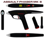 Assault Phaser Mk  8 by bagera3005
