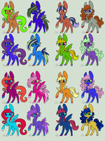 open pony adopts 1 by ligerdarktalon