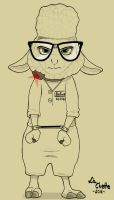 Whereabouts: Dawn Bellwether by HyenaTig