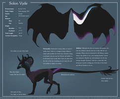 Vyde Ref Sheet by Zenevieve