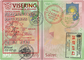 Telemor Passport Stamp Page Sample 2.0 by requindesang