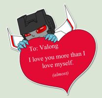 Starscream Luv by Ty-Chou