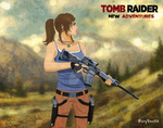 Lara Croft the amazon by PixyDee123