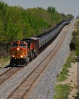 BNSF 4533 Dash 9-44CW by Pavloff-Photos