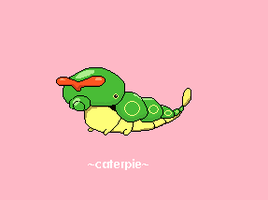 Caterpie 010 by juenavei