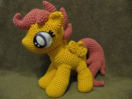 Scootaloo by NerdyKnitterDesigns