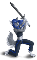 Commission: Bladewolf by Willow141