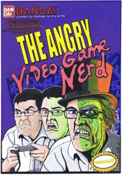 The Angry Video Game Nerd by ArfonArt
