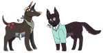 AUCTION - Collab adopts (closed) by CharlotteBlanc