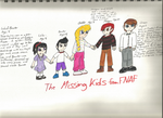 Five Missing Kids: FNAF fanart by MissLuckychan29