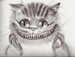 Cheshire Cat by thedarkenedkeeper