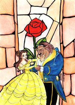 The Beauty and The Beast by yelmizuno