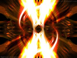 Firestorm -Abstract by Toob-Rat