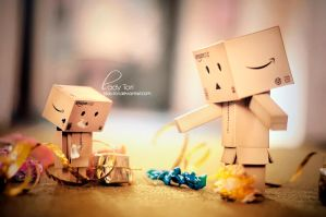 Naughty Danbo by Lady-Tori