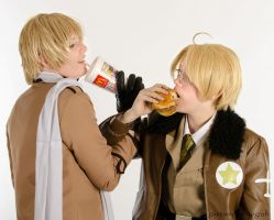 [APH] Burger Ad by Kainan-DX
