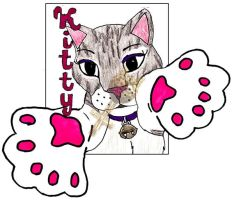Badge: Kitty by Catwoman69y2k