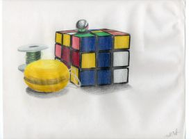 Rubix Cube by jesus-at-art