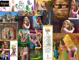 Tangled collage by Alternate-You