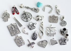 23 Art/Music/Travel Charms FOR SALE by MonsterBrandCrafts