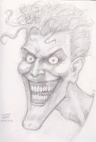Bolland Joker sketch 6-20-2013 by myconius